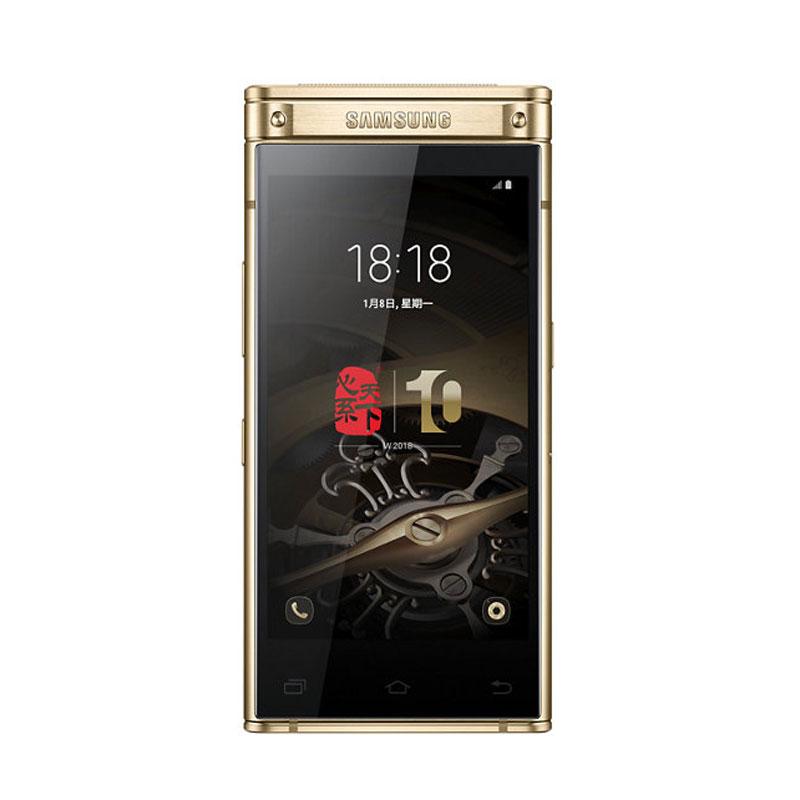 Samsung/三星 SM-W2018心系天下 全网通智能双屏翻盖4G手机