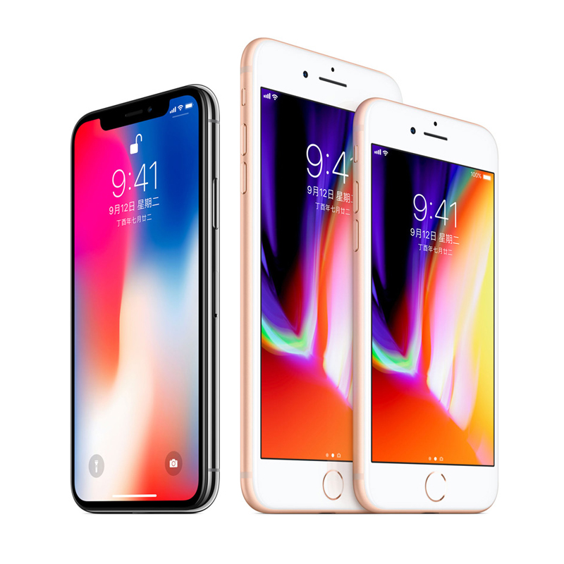 二手:Apple/苹果iPhone8 8Plus iPhone X 全网通4G 8P二手机 正品